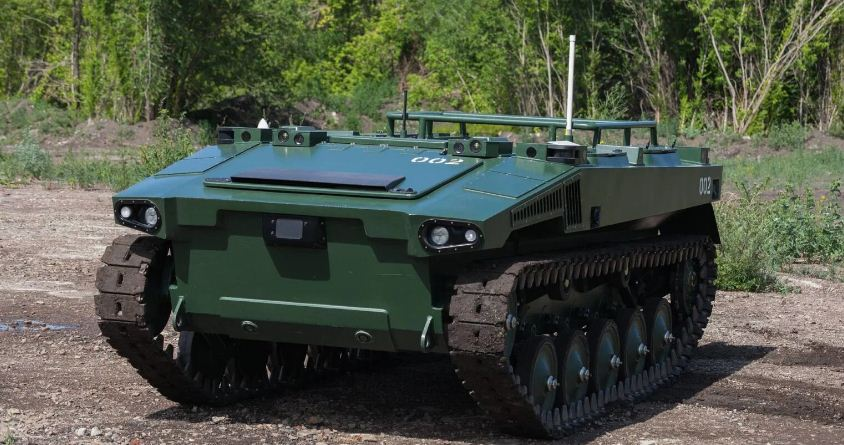 روسيا تكشف عن مركبة Marker الأرضية الجديدة بدون قائد