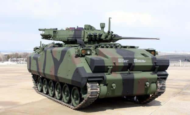 الجيش الكندي يكشف عن مركبة دعم قتالية مصفحة جديدة 8 × 8