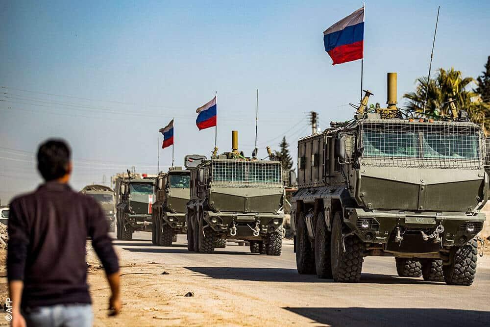 تفجير يستهدف قاعدة روسية في ريف الرقة الشمالي..