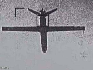 تدمير طائرة مفخخة في الأجواء اليمنية كانت تستهدف مناطق داخل المملكة