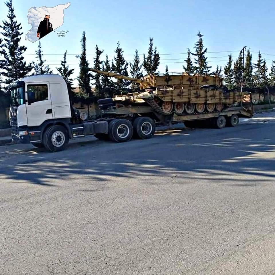 مقتل وجرح عدد من الجنود السورينن في هجوم على حافلة عسكرية قرب تدمر