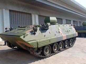 الجيش التايلاندي يكشف النقاب عن مدرعة من طراز 85 صينية الصنع بعد الترقية