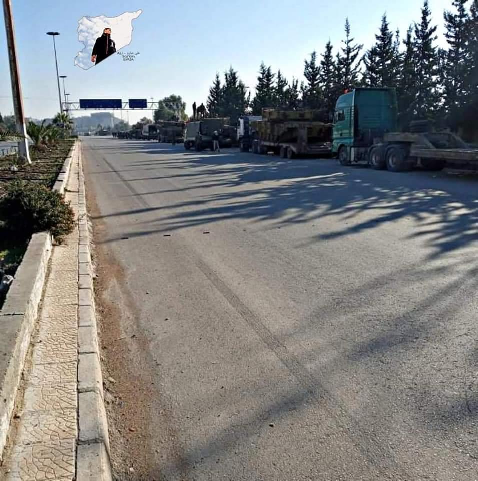"""الجيش السوري يحشد قواته جنوبا """"مدرعات ودبابات T72 وعينه على داعش"""