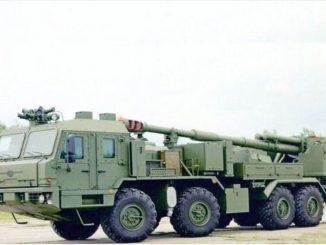 مدفع مالفا 2S43 الروسي جديد مثبت على شاحنة.. تعرف مميزاته