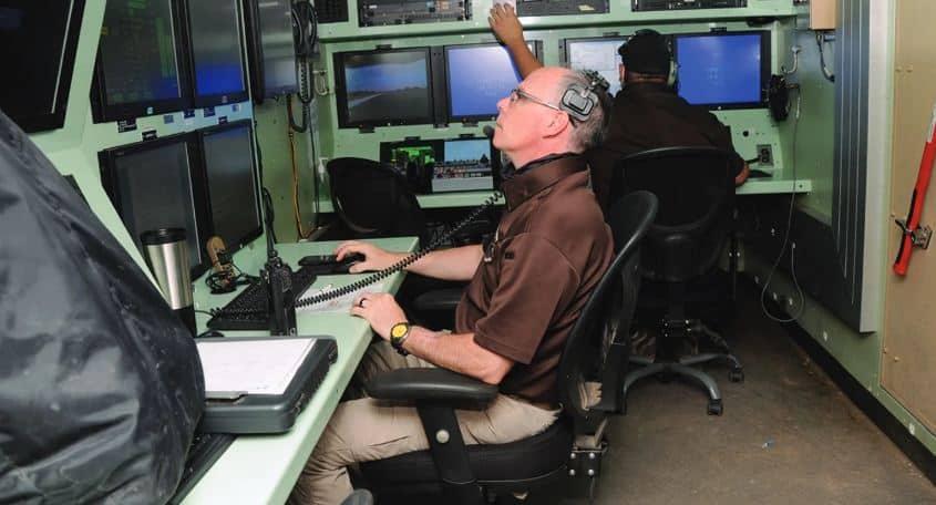 الجيش الأمريكي يختبر طائرة بدون طيار من طراز Tigershark في مركز الاختبار الأول