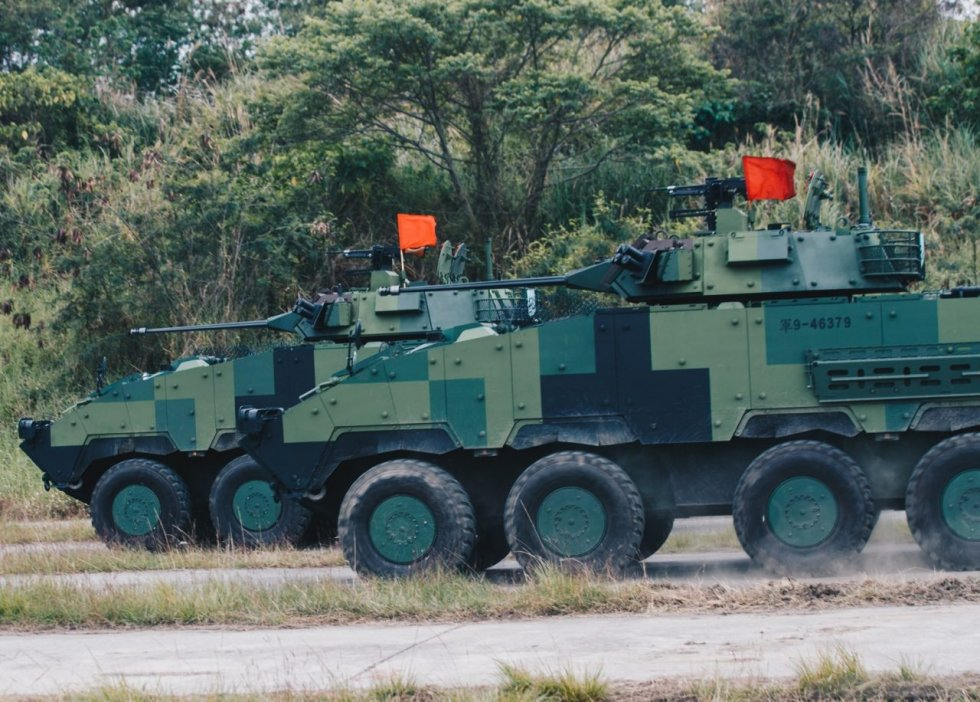 تطور تايوان مركبة جديدة ذات عجلات لقتل الدبابات