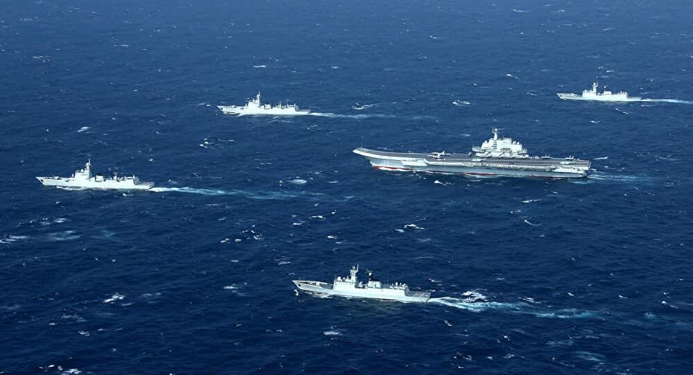 الصين تبني قاعدة عسكرية في بحر الصين الجنوبي