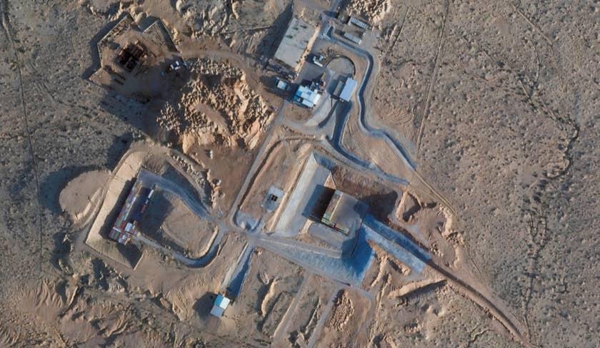 صور تؤكد قيام إسرائيل بتوسيع مفاعل ديمونا النووي