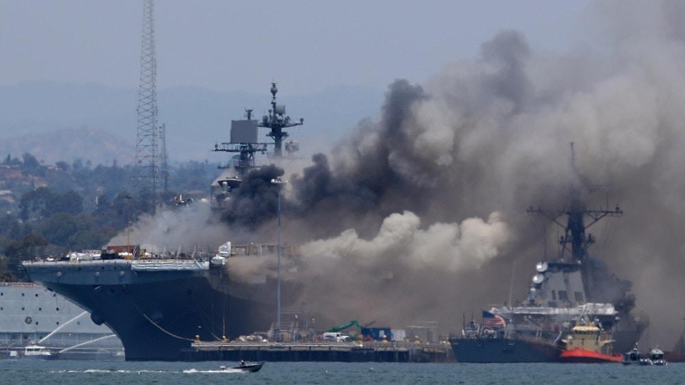 إسرائيل تقصف معقلا هامة لإيران في دمشق بعد تفجير سفينة إسرائيلية