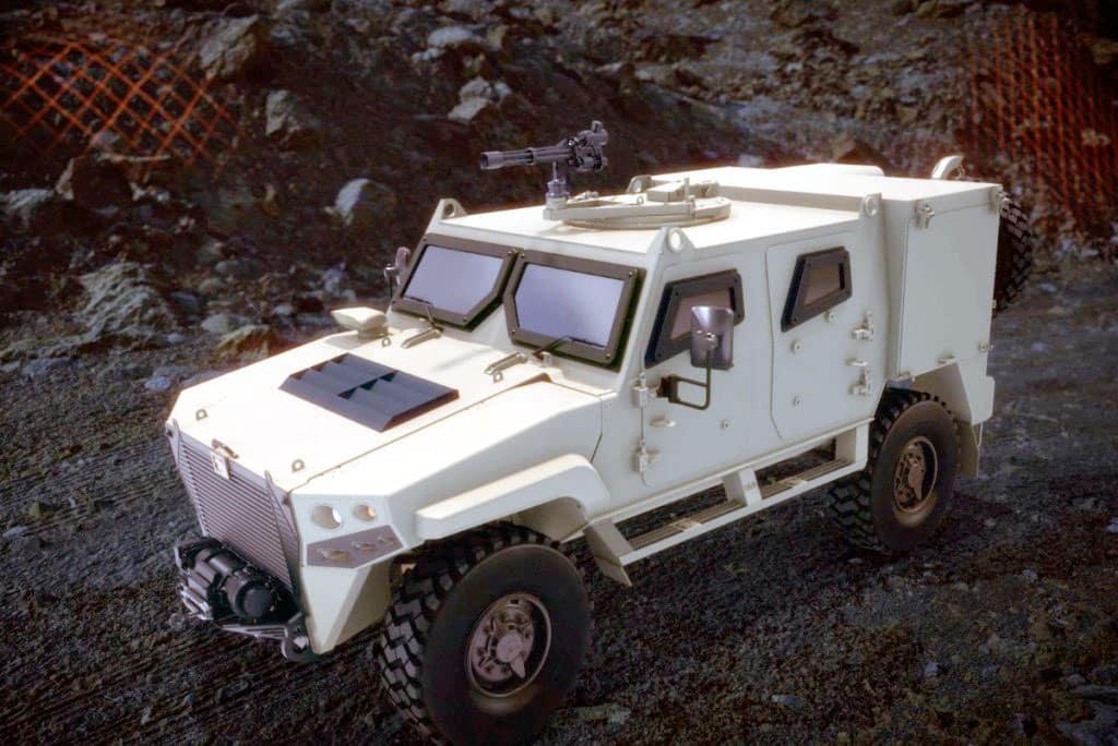 نمر عجبان Mk 2 جيل جديد من المركبات المدرعة ذات الدفع الرباعي الإماراتية الصنع