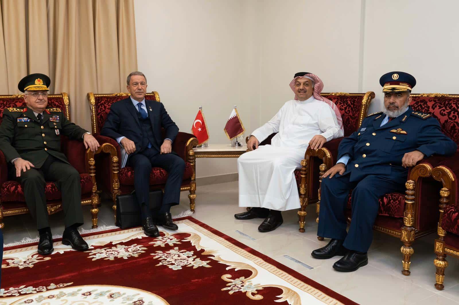 اتفاقية عسكرية جديدة بين قطر و تركيا