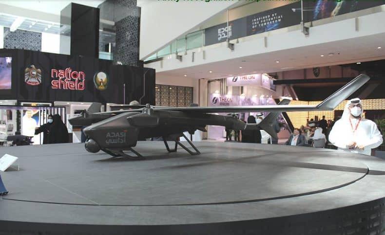 """شركة ADASI """"الإمارات تطور طائرة QX-4 كاميكازي قادرة على حمل قنابل موجهة بدقة"""