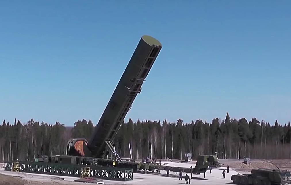 روسيا تبدأ قريبًا اختبارات الطيران لصاروخ RS-28 Sarmat