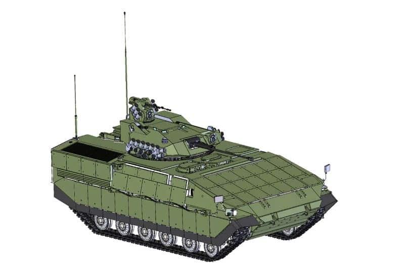 كشف النقاب عن برنامج مركبات المشاة القتالية الأوكرانية في المستقبل