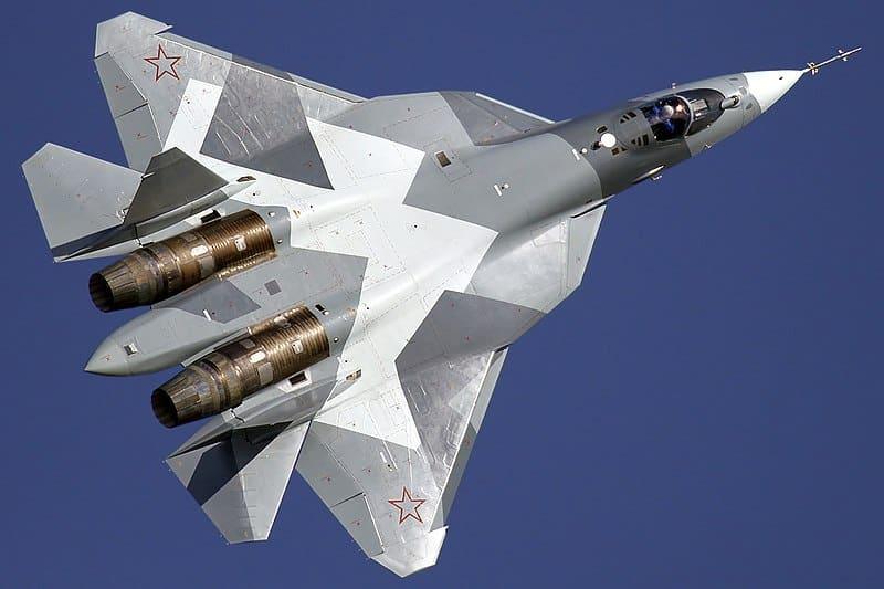تعديل مقاتلات الجيل الخامس الروسية لمنحها السيطرة بمجموعة مجموعة طائرات دون طيار