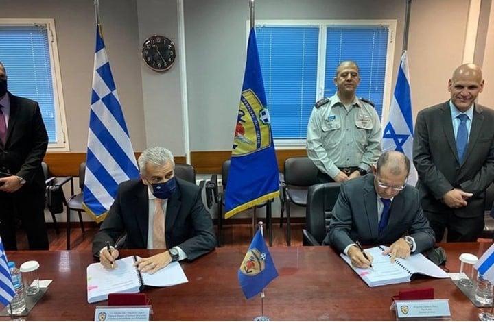 صفقة دفاعية ضخمة  بين إسرائيل واليونان