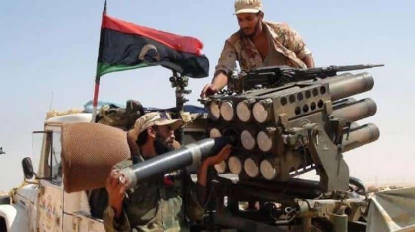 الجيش الليبي يستطلع حدود تشاد من البر والجو تزامنا مع الإضطرابات هناك