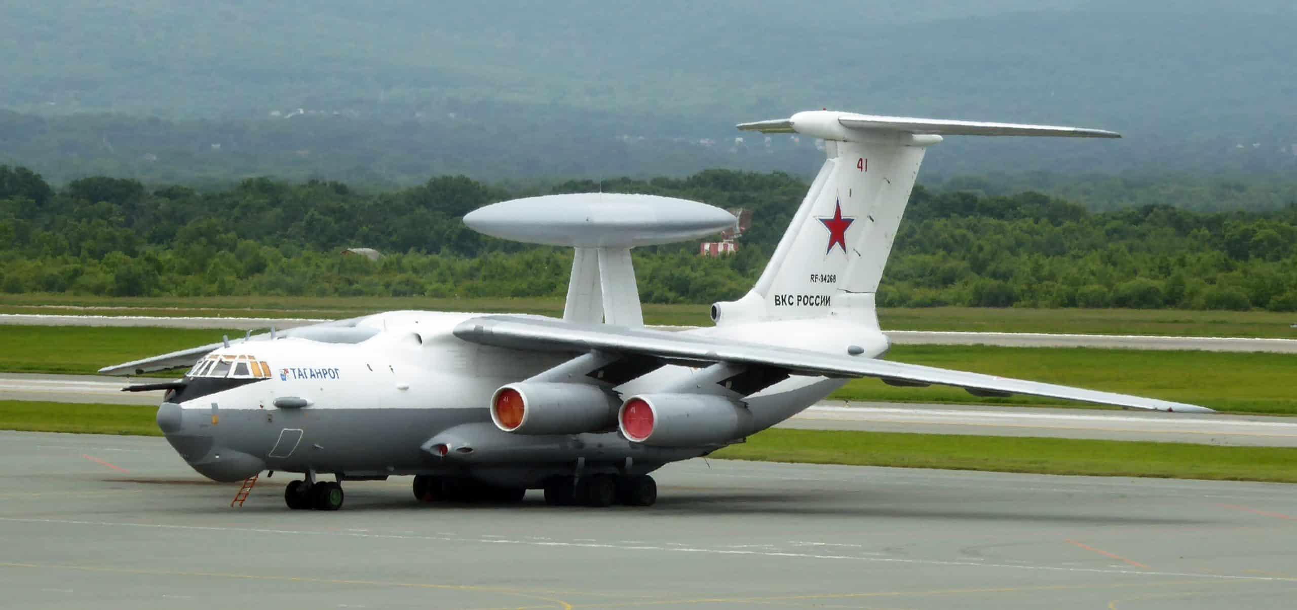 روسيا تنشر طائرات الإنذار المبكر المحمولة جوا من طراز A-50 على الحدود الغربية