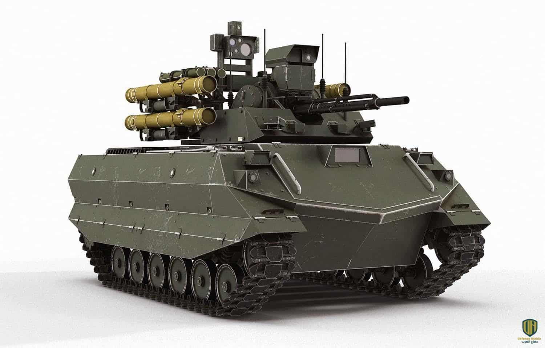 روسيا تطلق أول دبابة مسيرة آلياً في معركة حقيقية بعد إختباراها في الحرب السورية