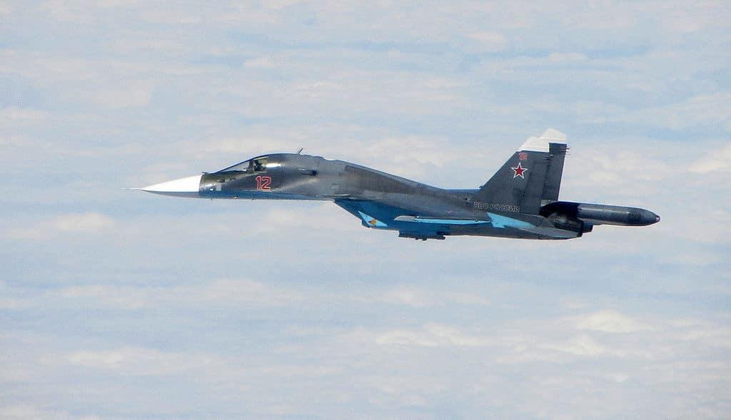 قاذفة سو-34 تحصل على معدات جديدة ترفع قدرتها على المواجهة