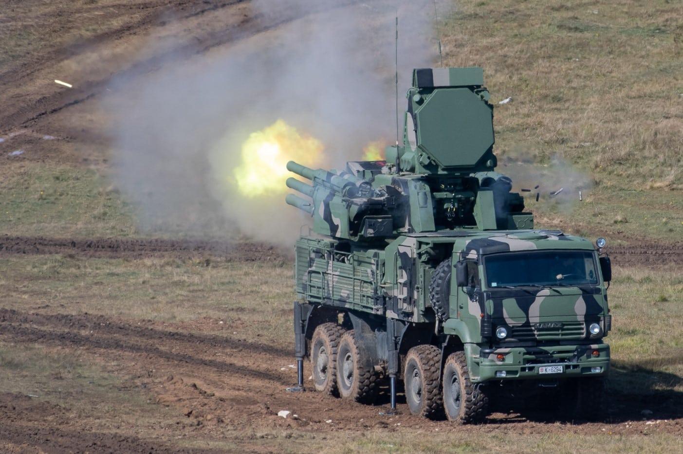 نظام الدفاع الجوي الروسي Pantsir-S1 يدخل في الخدمة مع جيش ميانمار