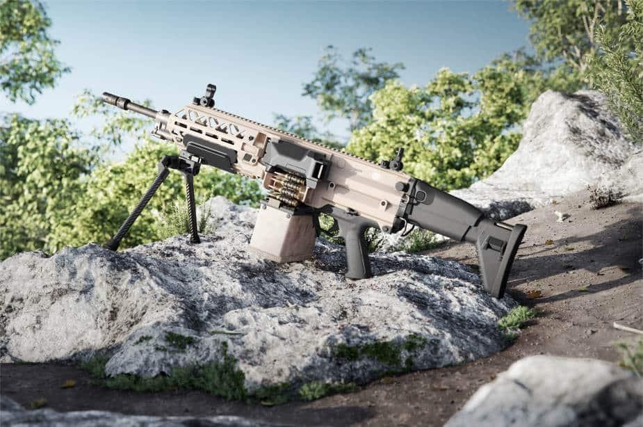 FN Herstal تطلق مدفعها الرشاش الخفيف الجديد FN EVOLYS عيار 5.56 أو 7.62 ملم