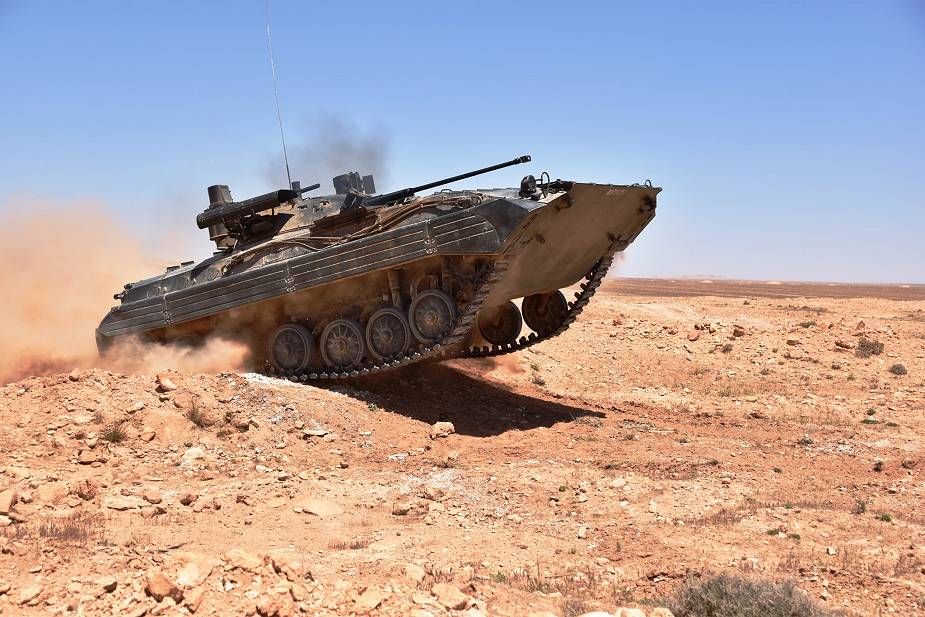 الجزائر تحدث 360 BMP-2 IFVs إلى BMP-2M القياسي بصواريخ Kornet المضادة للدبابات