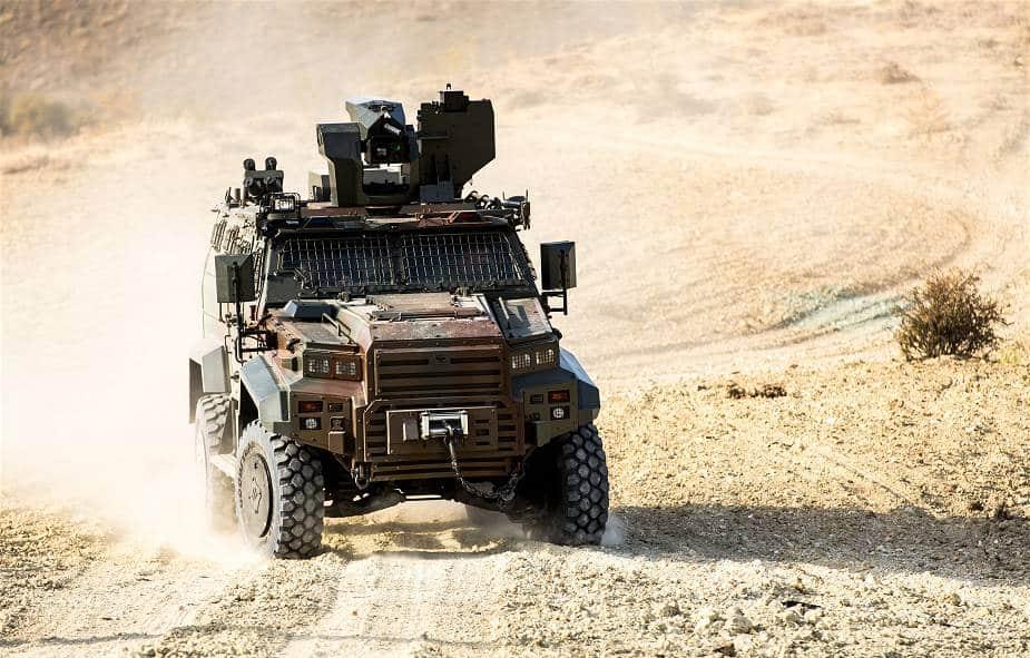 المغرب يبدي اهتمامه بشراء مركبات إيجدر يالسين ذات الدفع الرباعي من تركيا