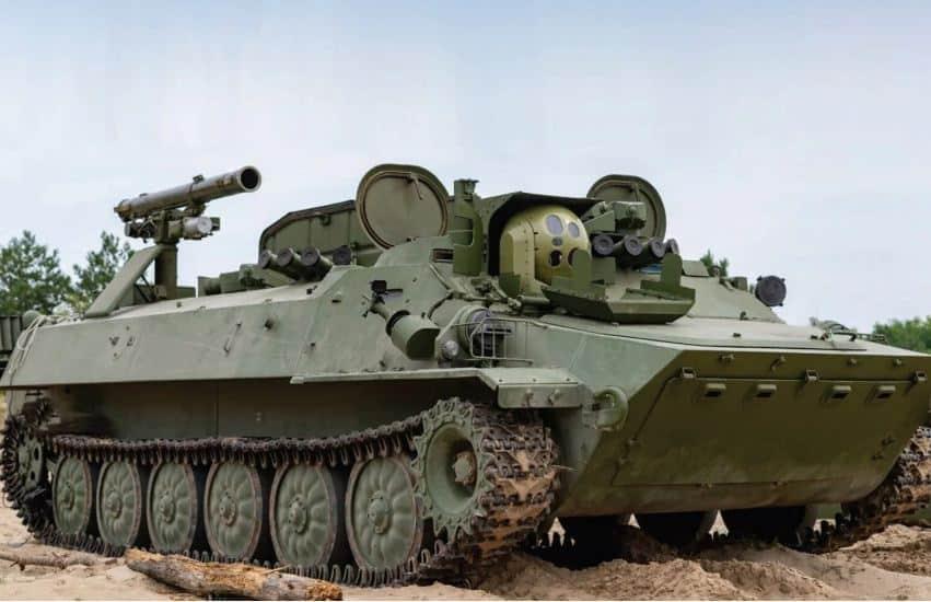 أوكرانيا تكشف عن نسخة متطورة من مدمرة دبابات من الحقبة السوفيتية