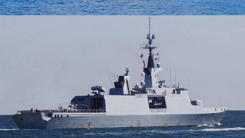 صور من التدريب البحري المشترك للقوات المصرية والفرنسية في المتوسط