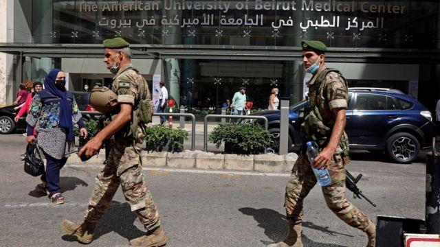 المؤسسة العسكرية اللبنانية في طريقها للإنهياء التام