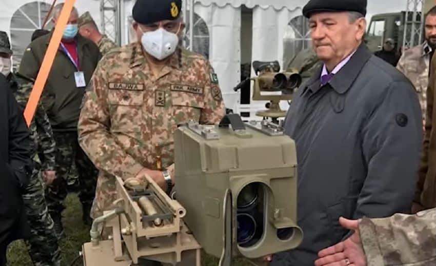 الصاروخ الأوكراني المضاد للدبابات يُظهر دقة هائلة أثناء العرض