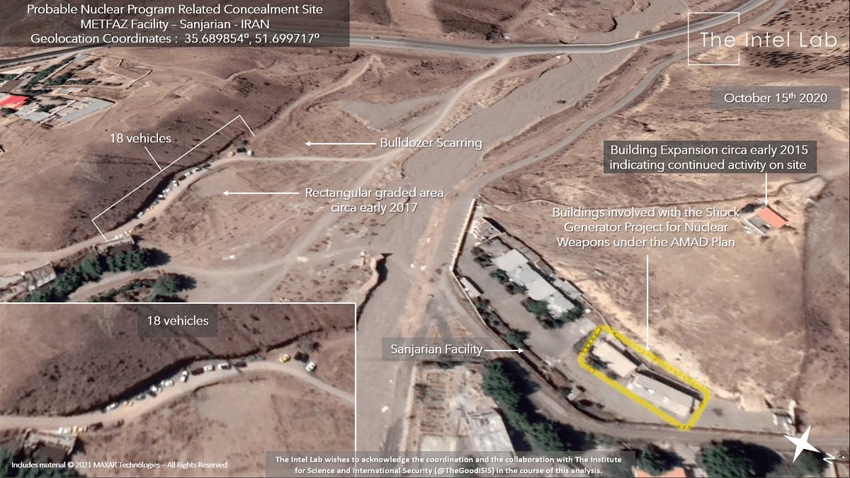 صور جوية ترصد أنشطة نووية مشبوهة قرب طهران