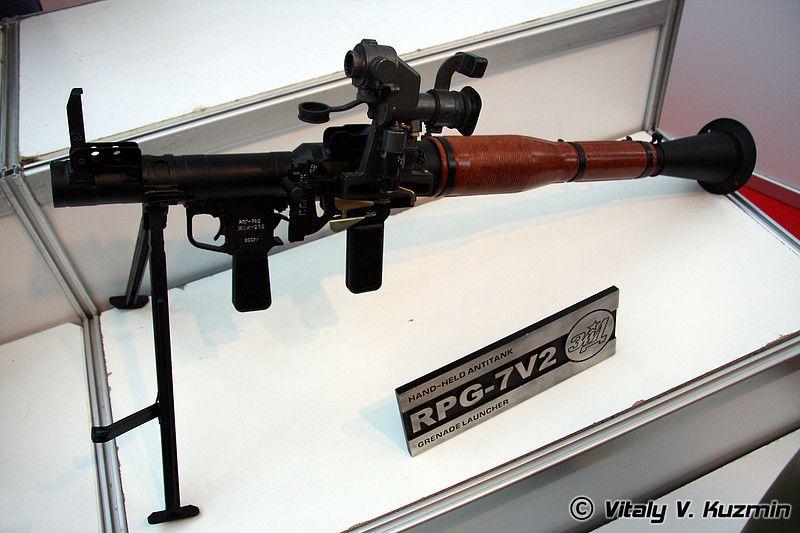صناعة الدفاع الروسية تحدث قاذفة الصواريخ RPG-7V2