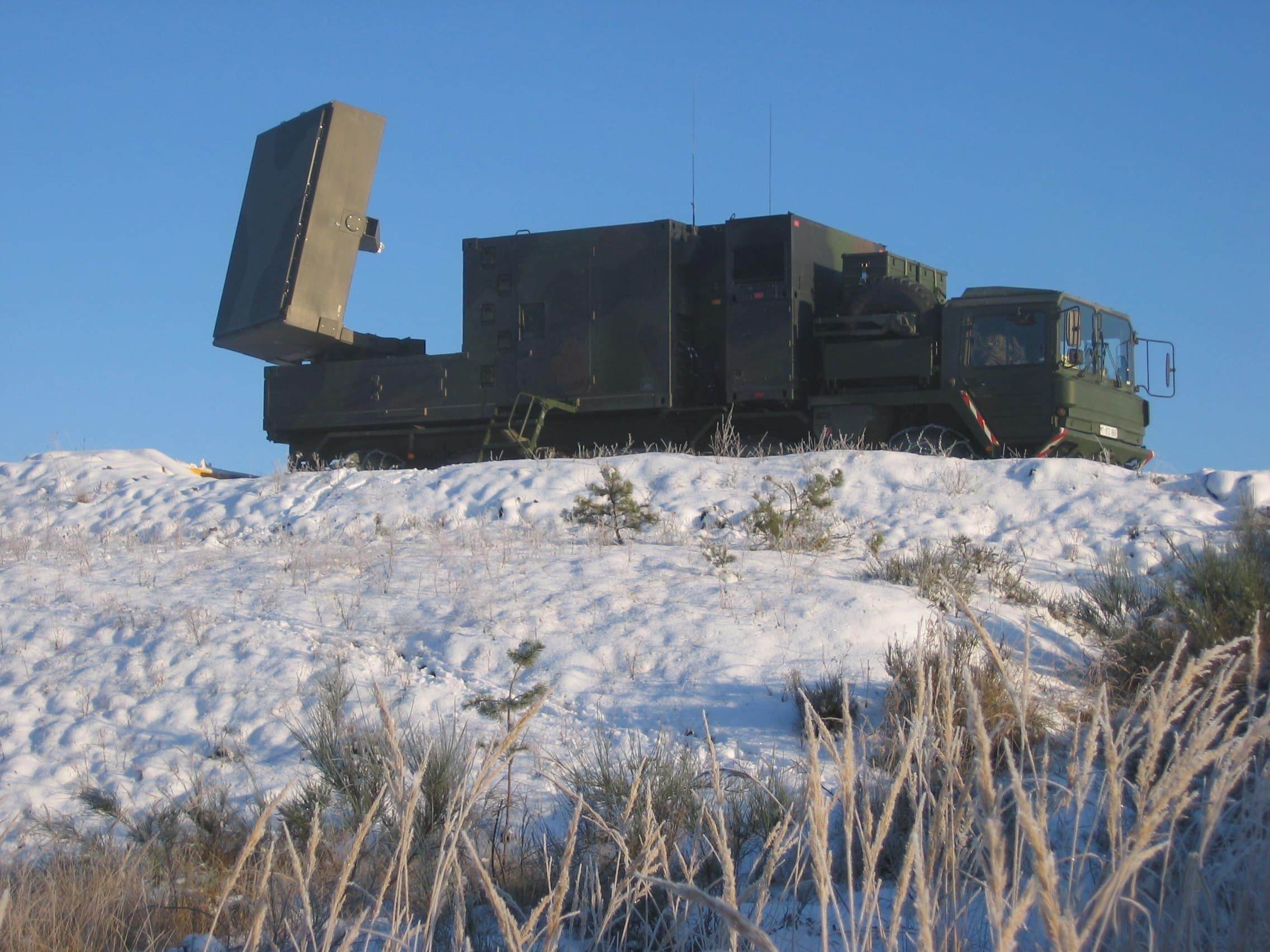 تحديث رادارات الناتو الخاصة بموقع مدفعية كوبرا