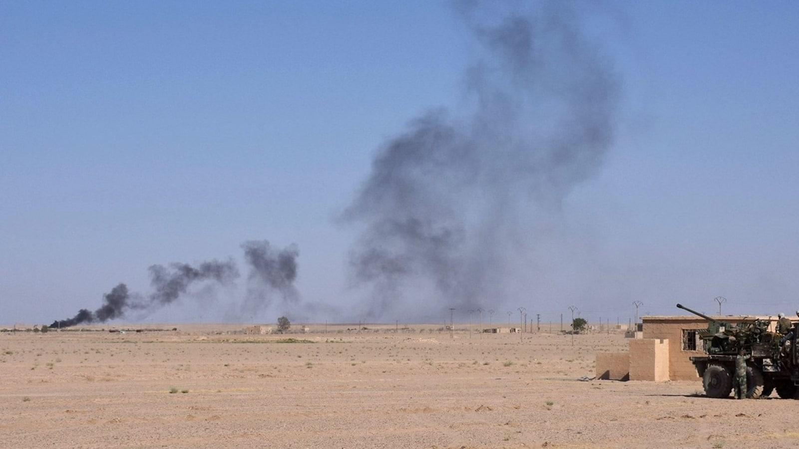 طائرات مجهولة تستهدف فصائل إيرانية في سوريا فهل فعلتها إسرائيل؟