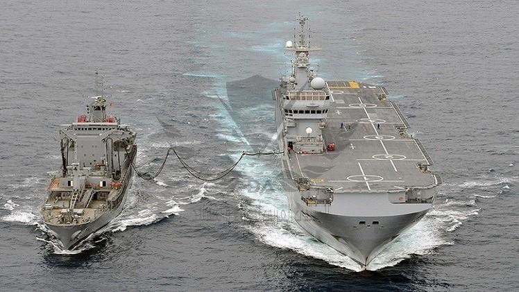 """عالمي: """"ميسترال"""" الفرنسية تمخر عباب المتوسط سواحل روسيا"""