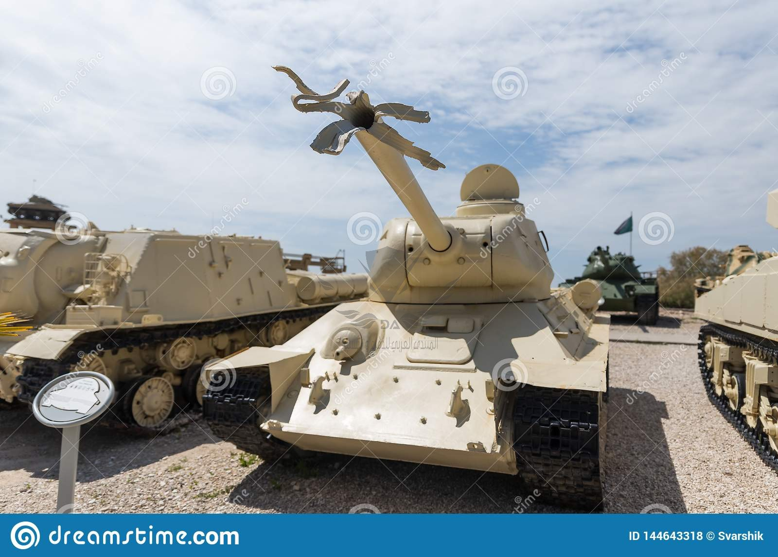 latrun-israel-april-tank-broken-barrel-shot-memorial-site-near-armored-corps-museum-144643318.jpg