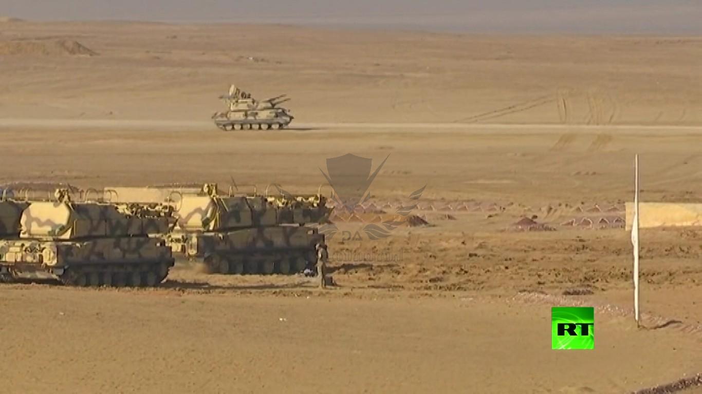 تدريبات  سهم الصداقة -2019  الروسية المصرية تواصل فعالياتها[(002817)2020-10-15-22-31-41].JPG