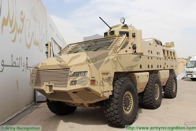 Mbombe_6x6_APC_KADDB_turret_SOFEX_2016_Special_Operations_Forces_Exhibition_Amman_Jordan_640_001.jpg