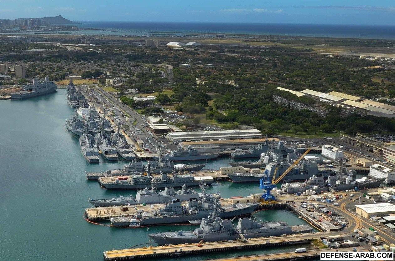 RIMPAC 2016_ navios atracados em Pearl HarborPoder Naval - A ___.jpg