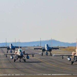 مقاتلات F-15C و F-16 Block-52